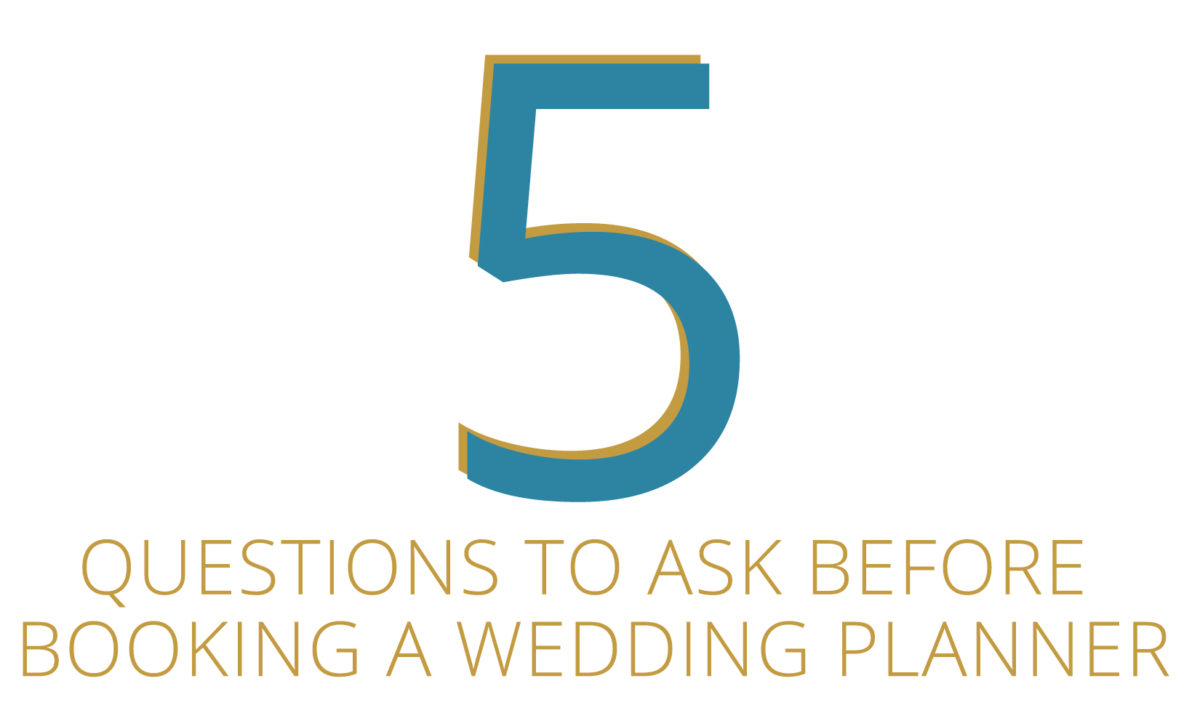 5 Questions to Ask Before Booking a Wedding Planner