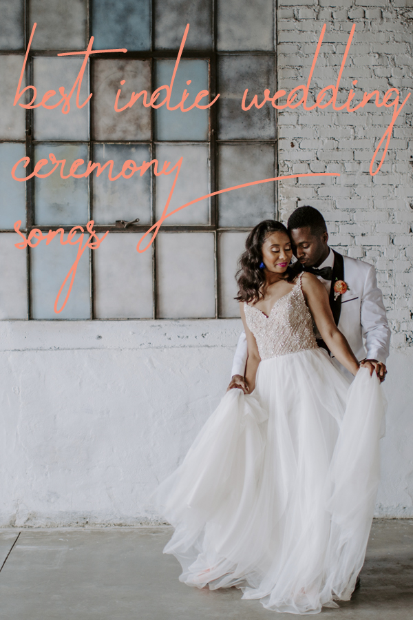 indie wedding ceremony songs
