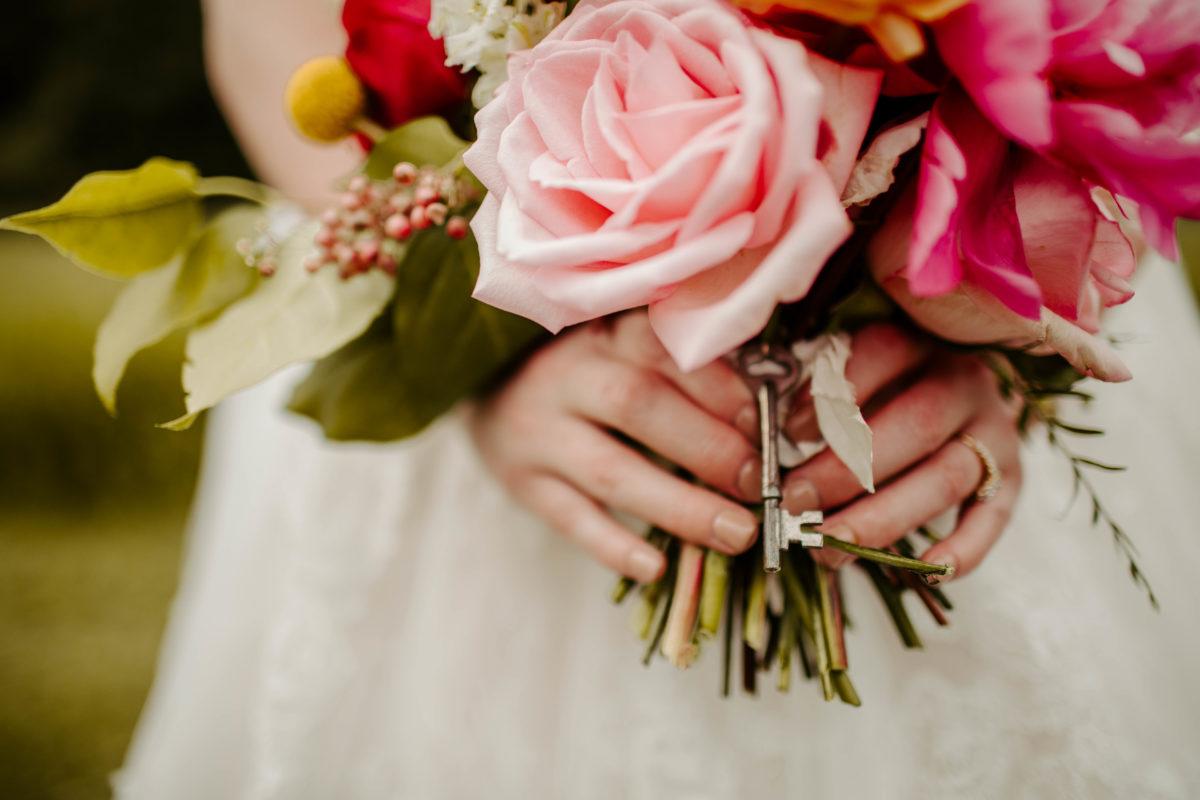 Bouquet photo by Napier Photo Co.