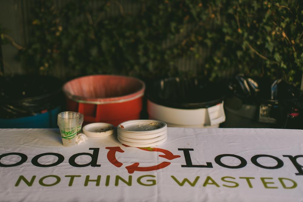 Food Loops station at wedding in Northwest Arkansas