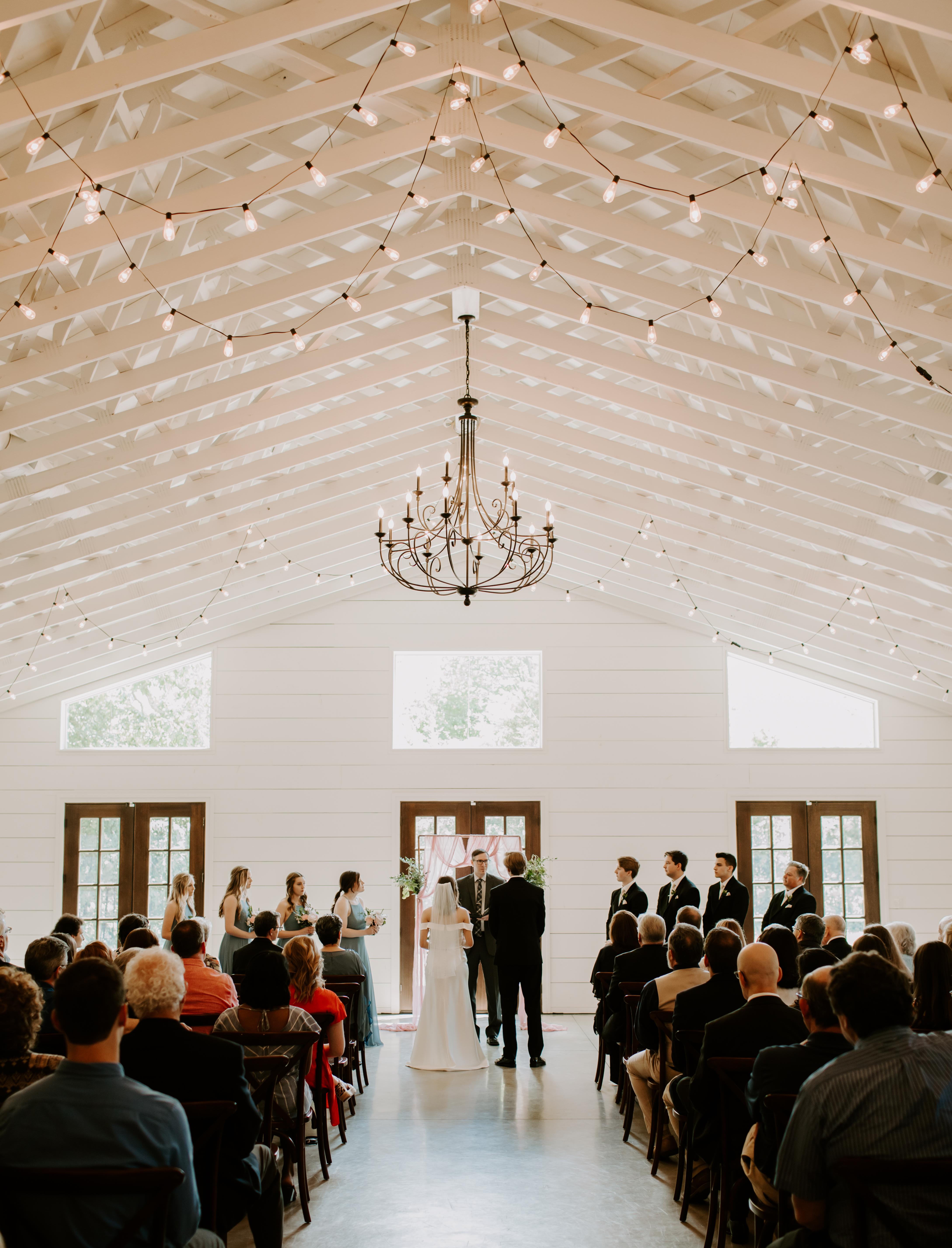 The Loft at Stone Oak wedding ceremony