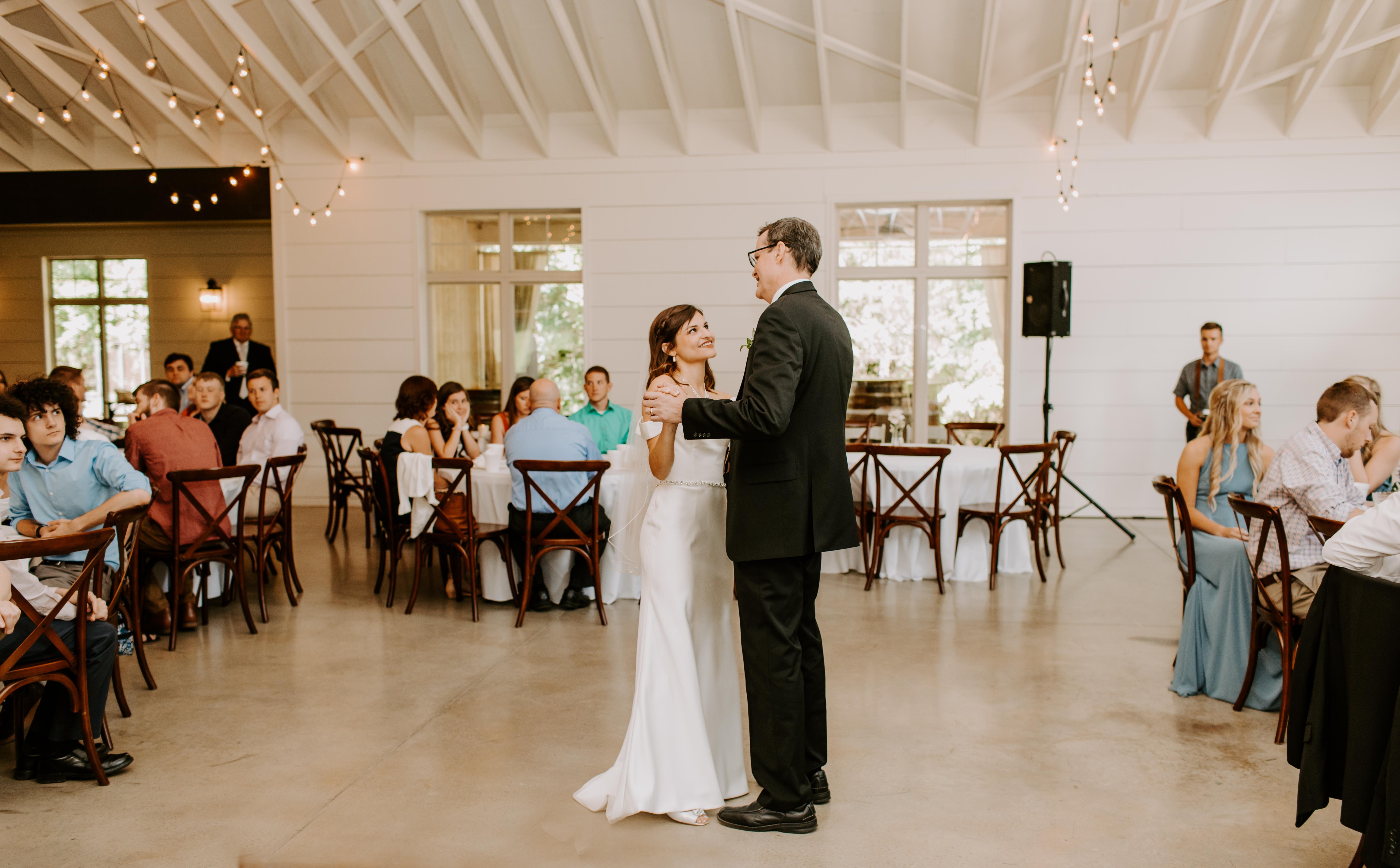 father daughter dance at Loft at Stone Oak