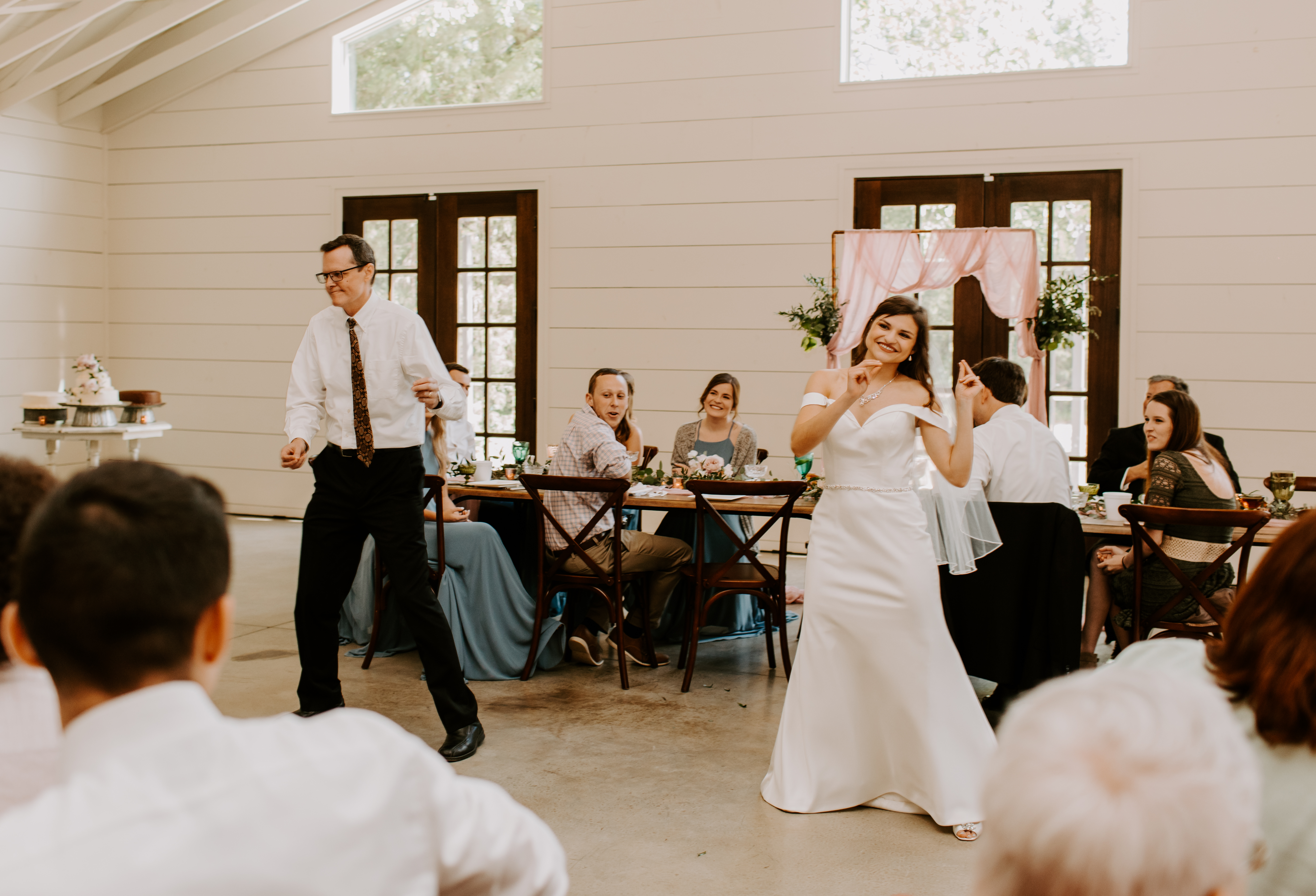 Coordinated father/daughter dance