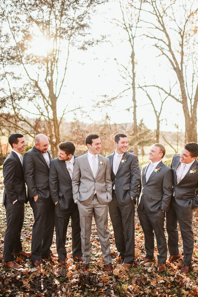 Sassafras Springs Vineyard & Winery Groom and groomsmen