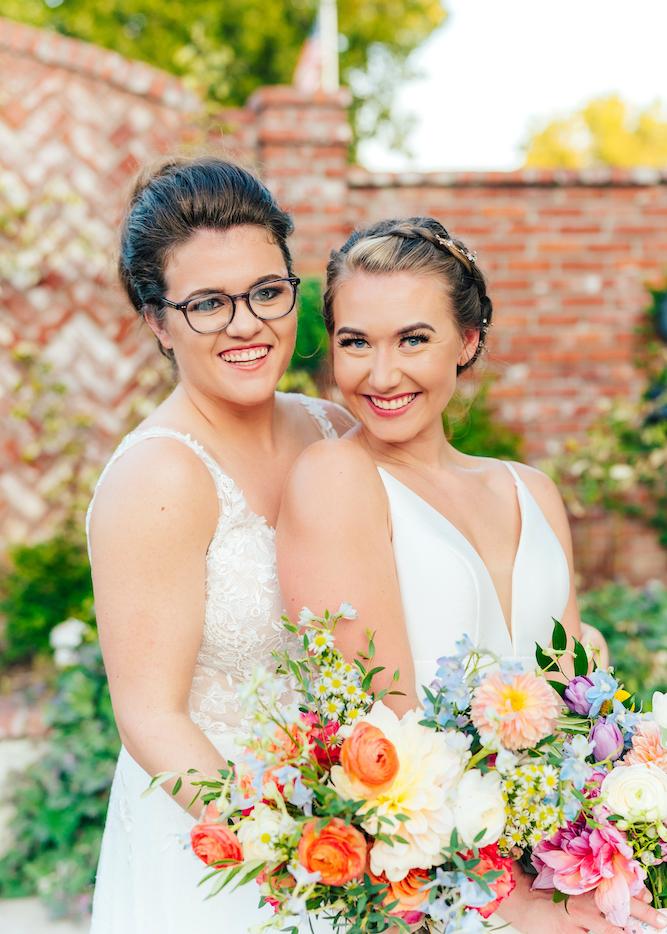 Same-sex wedding at Ravington Centerton Arkansas