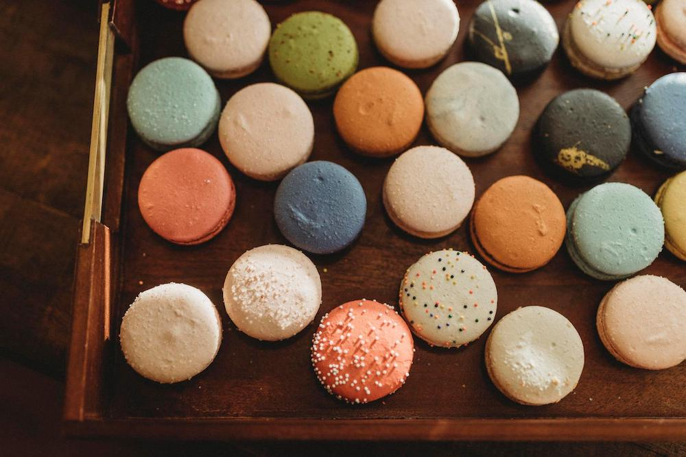 wedding macarons in northwest arkansas from The Cake Occasion
